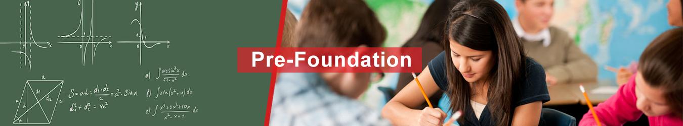 Pre-Foundation